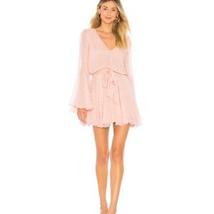 NEW NWT Lovers + Friends Lila Dress in Blush